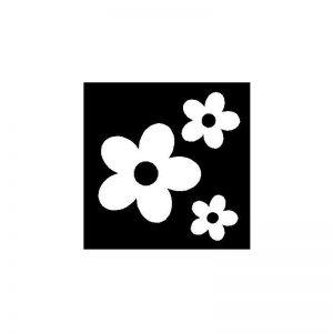 Pochoirs pour tondre fleurs