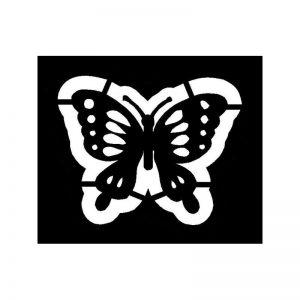 Pochoirs pour tondre Papillon