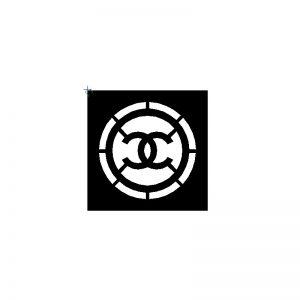 Pochoirs pour tondre Chanel