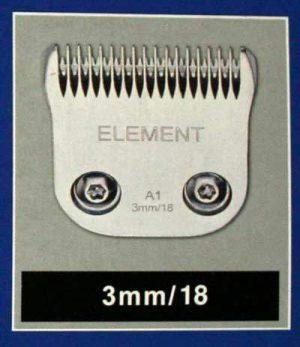 Peigne Liveryman P2 3mm